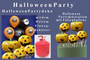 Halloween Partydekoration Luftballons