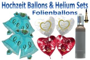 Hochzeits - Sets mit Folienballons