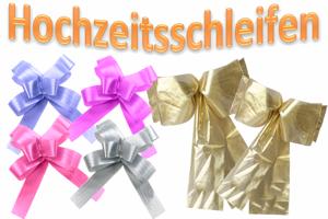 Hochzeit-Deko-Schleifen-Hochzeitsschleifen