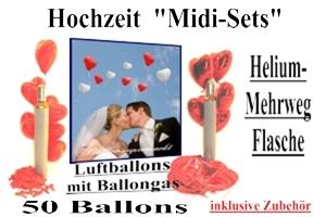 """""""Hochzeit"""" Midi-Sets / 50er"""