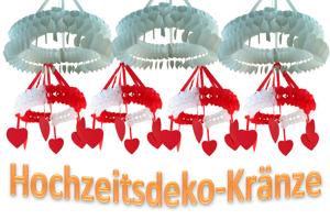 Dekorationskränze Liebe & Hochzeit