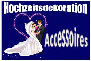 Hochzeitsdeko Accessoires