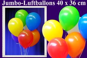 Jumbo-Rundluftballons 40x36 cm
