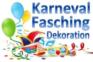 Dekoration Karneval und Fasching