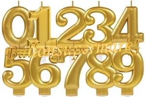 Sparkling Celebration Zahlen Geburtstagskerzen