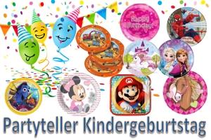 Kinder-Party-Teller