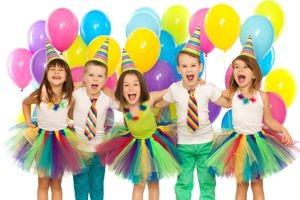 Kindergeburtstag, Luftballons, Dekoration, Geschenke