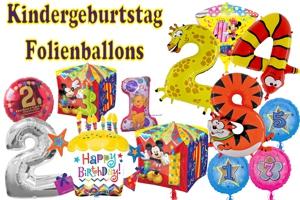 Kindergeburtstag Folienballons