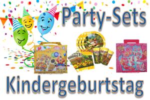 Kindergeburtstag Party-Sets