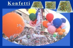 Konfetti zu Karneval und Fasching
