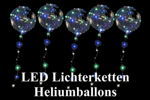 LED Lichterketten Heliumballons