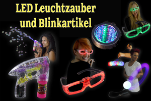 LED Leuchtzauber und Blinkartikel
