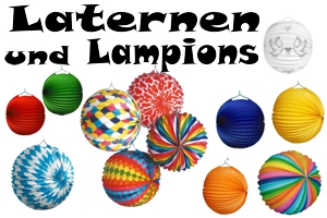 Laternen & Lampions