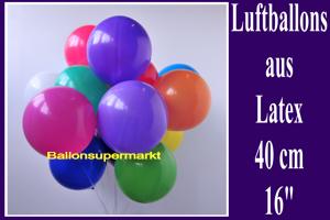 Luftballons, Rundform, 35-40 cm