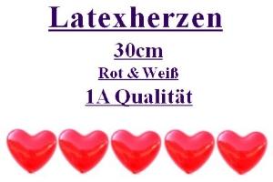 Herzluftballons 1A Qualität