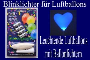 Luftballonlichter für blinkende Ballons