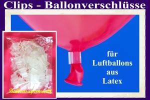 Luftballonclips