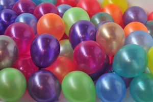 "Luftballons Latex 18-20 cm 8"""