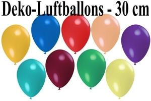 Deko-Luftballons 30 cm
