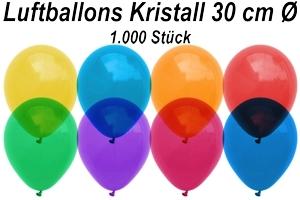 Luftballons Kristall 30 cm - 1000 Stück