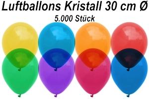 Luftballons Kristall 30 cm - 5000 Stück