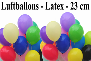 "Luftballons Latex 23 cm 9"""