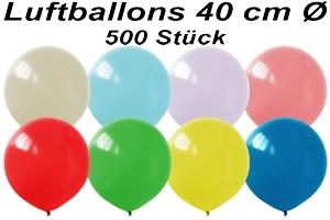 Luftballons 40cm - 500 Stück Beutel