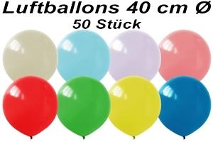 Luftballons 40cm - 50 Stück Beutel