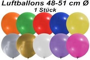 Luftballons 48 cm - 1 Stück Beutel