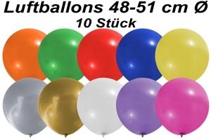 Luftballons 48 cm - 10 Stück Beutel