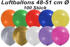 Luftballons 48 cm - 100 Stück Beutel