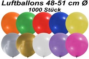 Luftballons 48 cm - 1000 Stück