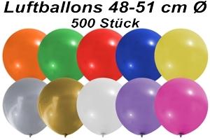 Luftballons 48 cm - 500 Stück