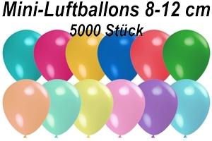 "Luftballons Pastell, 8-12 cm 5"", 5000 Stück"