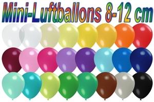 "Luftballons Pastell, 8-12 cm 5"""