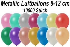 "Luftballons Metallic, 8-12 cm, 5"", 10000 Stück"