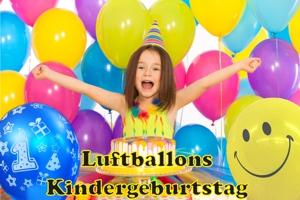 Luftballons aus Latex zum Kindergeburtstag