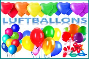 Luftballons die für Helium geeignet sind