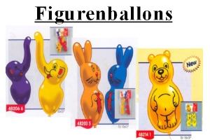 Luftballons Figurenballons