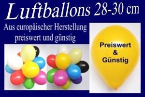 Luftballons 30 cm preiswert und günstig