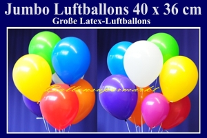 Luftballons 40 cm preiswert und günstig