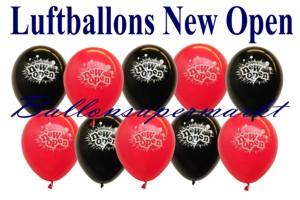 Luftballons Neueröffnung
