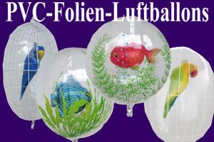 Luftballons aus PVC