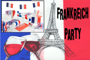 Frankreich Party