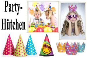 Kindergeburtstag Partyhütchen