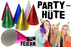 Partyhüte