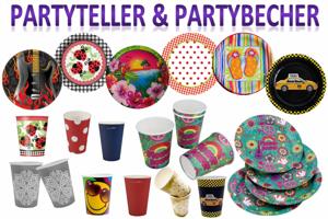 Partyteller & Partybecher