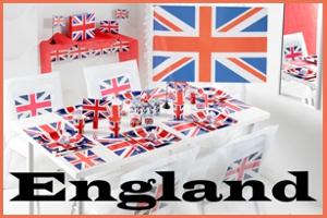 Partydekoration England