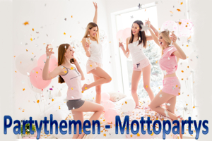 Partydekoration nach Partythemen