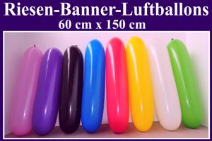 Riesen-Banner-Luftballons